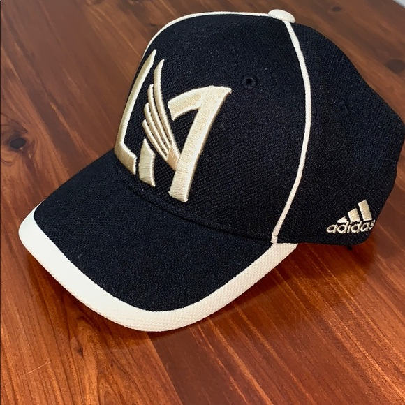 the latest 173ec 41d69 LAFC Adidas Cut & Sew Structured Adjustable Hat